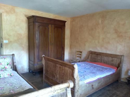 Letto o letti in una camera di Meiro di Choco