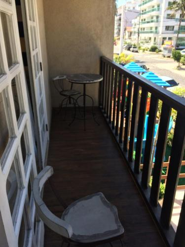 A balcony or terrace at Pousada da Prainha