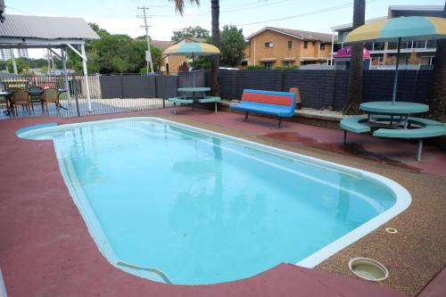 The swimming pool at or near Fantasy Ocean Holiday House