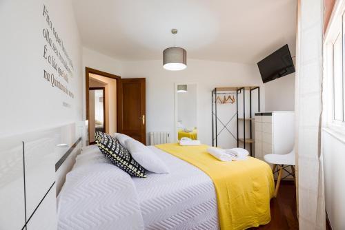 Cama o camas de una habitación en Bocanoite