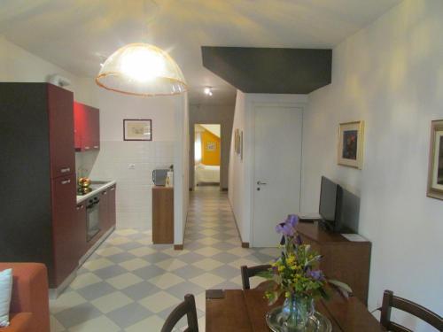 Area soggiorno di Casa Valerio