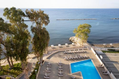 A view of the pool at Harmony Bay Hotel or nearby