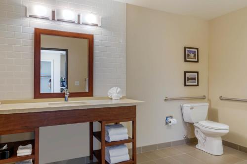A bathroom at Comfort Inn & Suites Schenectady - Scotia