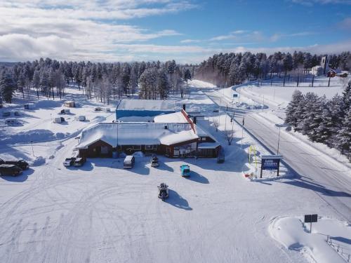 Åsarna Skicenter during the winter