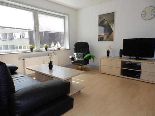 A seating area at Vestergade 7 Holiday Apartments