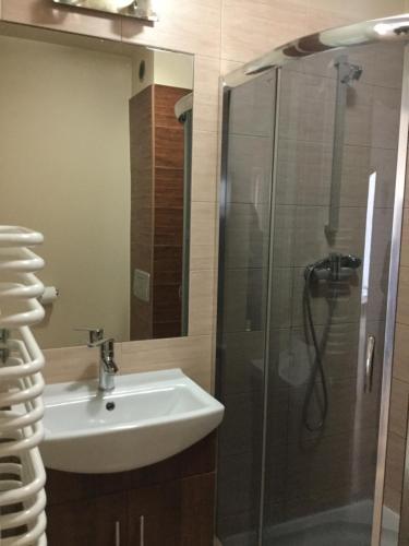 Łazienka w obiekcie Hostel Przed Świtem