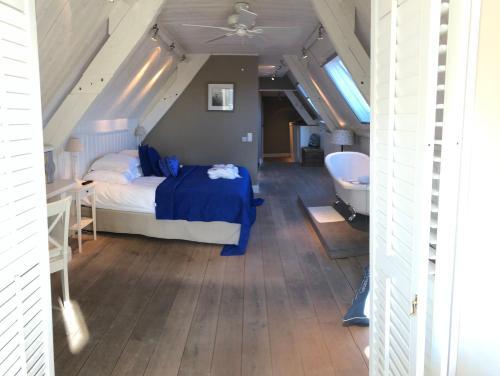 Cama o camas de una habitación en B&B Casa Romantico