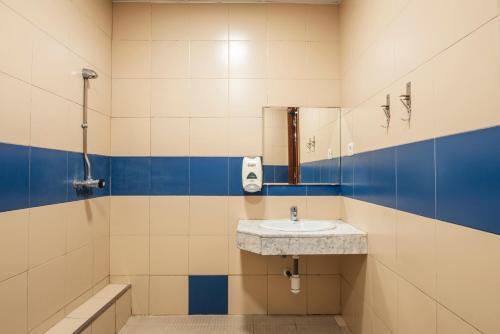 Salle de bains dans l'établissement Safestay Passeig de Gràcia