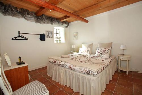 Säng eller sängar i ett rum på Wingårdhs B&B Österlen