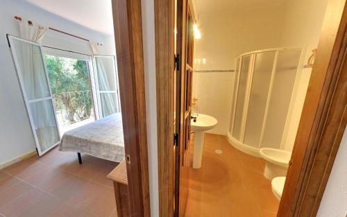 Un baño de Apartamentos Costa Trafalgar