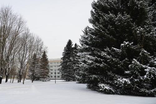 Дом отдыха Подмосковье Минобороны России during the winter