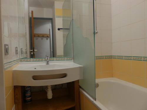 A bathroom at Residence Pralin