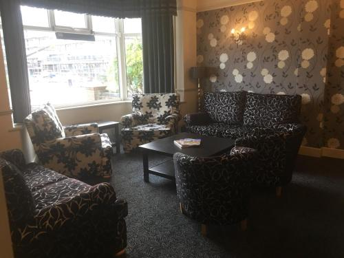 A seating area at The Savoy