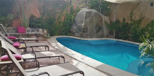 The swimming pool at or near Hotel Vogue