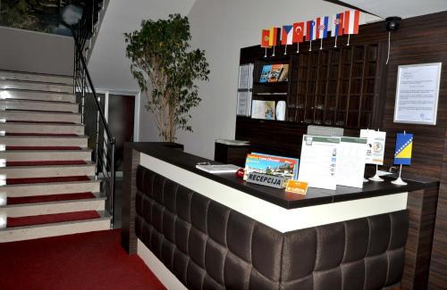 Predvorje ili recepcija u objektu Motel Malta
