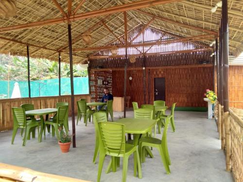 A restaurant or other place to eat at Kaziranga Eco Camp
