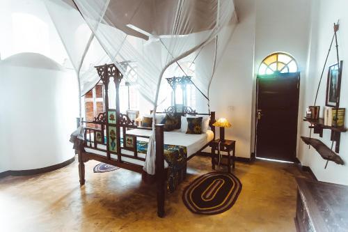 Area soggiorno di The Swahili House