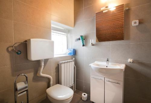 Koupelna v ubytování Bed & Breakfast Dada House