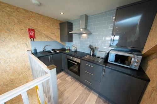 A kitchen or kitchenette at Lochanside