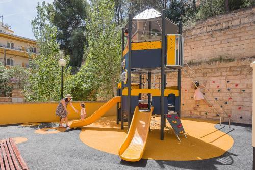 Children's play area at Hotel Flor Los Almendros