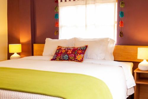 Un ou plusieurs lits dans un hébergement de l'établissement Casa de La Chola