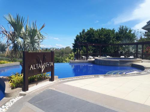 The swimming pool at or close to Unit 306 Alta Vista de Boracay by David