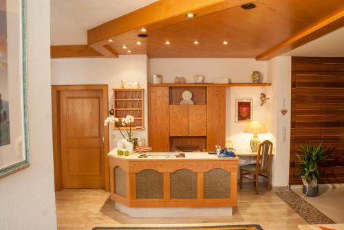 Lobby/Rezeption in der Unterkunft Hotel Pension Romantica