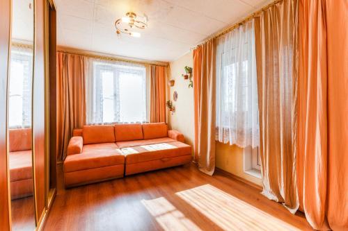 Гостиная зона в Шенкурском проезде 12А