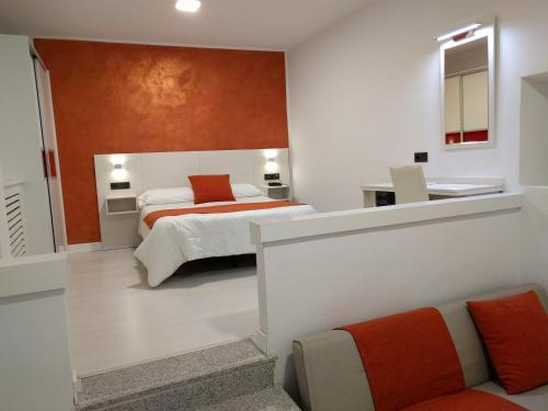 A bed or beds in a room at Emperatriz I