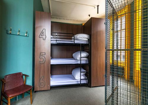 A bunk bed or bunk beds in a room at PubLove @ The Rose & Crown