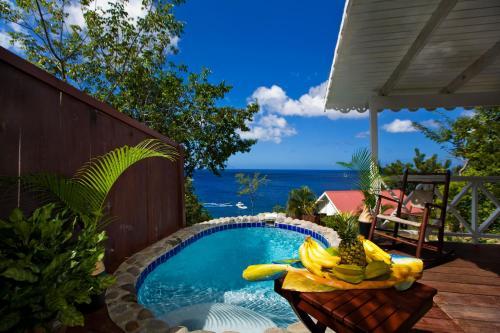 The swimming pool at or close to Ti Kaye Resort & Spa