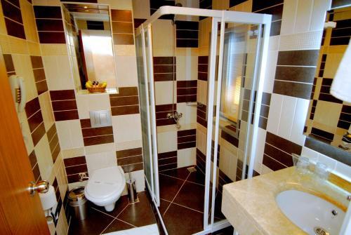 Ванная комната в Oba Star Hotel - Ultra All Inclusive