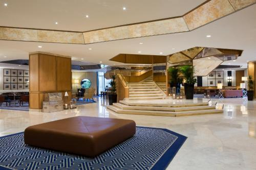 The lobby or reception area at Starhotels President