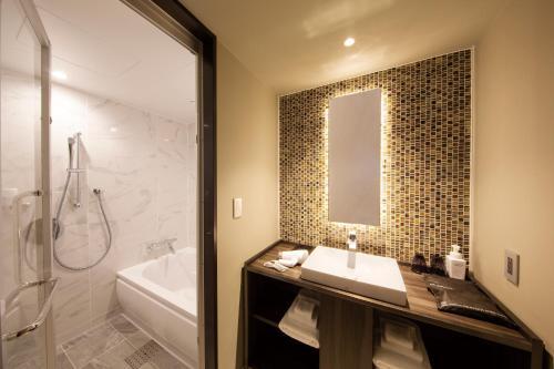 A bathroom at Shibuya Stream Excel Hotel Tokyu