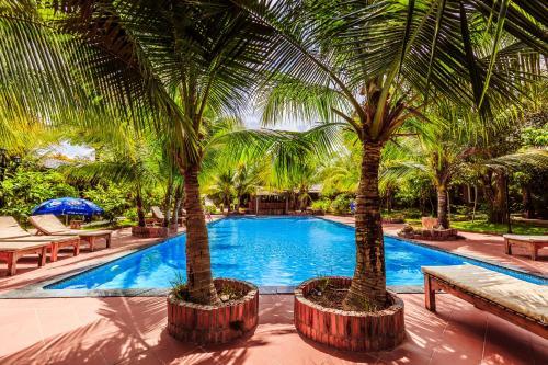 Бассейн в Sen Viet Phu Quoc Resort, Sport & Spa или поблизости