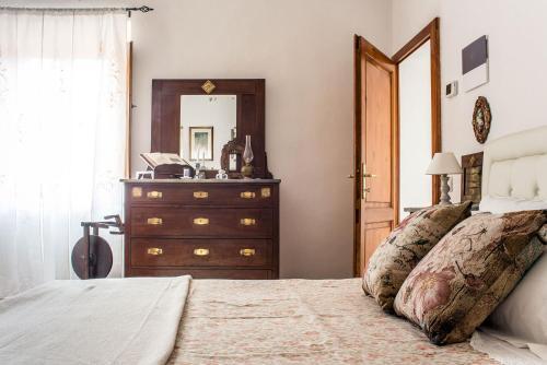 Letto o letti in una camera di A casa di Irma e Nilo