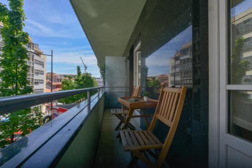 A balcony or terrace at Spot Apartments Ceuta
