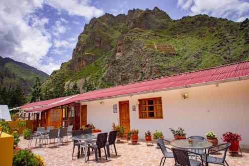 Restaurant ou autre lieu de restauration dans l'établissement Intitambo Hotel