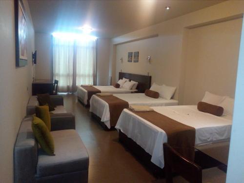 Cama o camas de una habitación en Urqu Hotel & Boutique