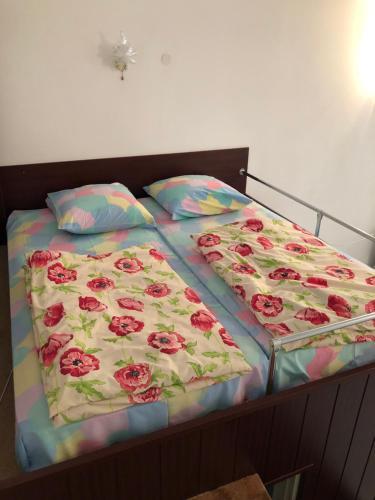 Кровать или кровати в номере Вилла Куршавель