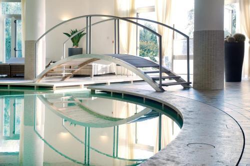 The swimming pool at or close to Villasanpaolo