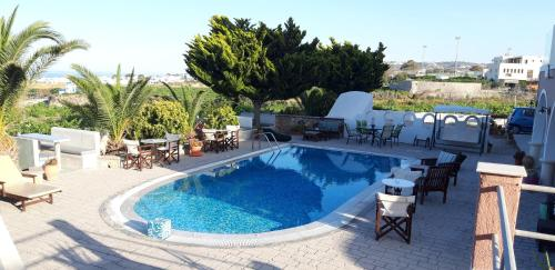 Piscine de l'établissement Villa Koronios ou située à proximité
