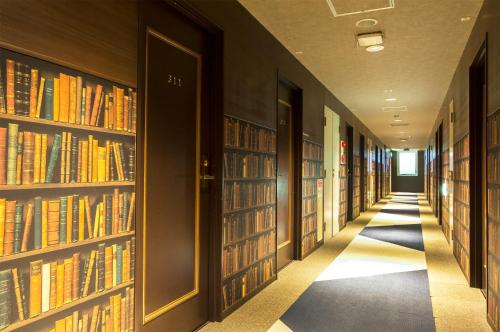 The library in the economy hotel