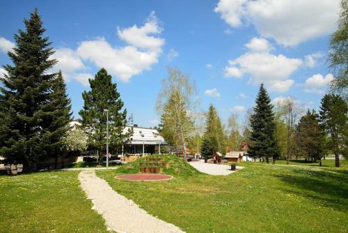 Zahrada ubytování Hotel Grabovac