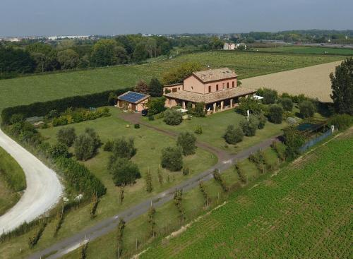 A bird's-eye view of La Fornasaccia