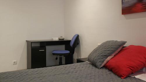 Cama o camas de una habitación en Apartament Margarit