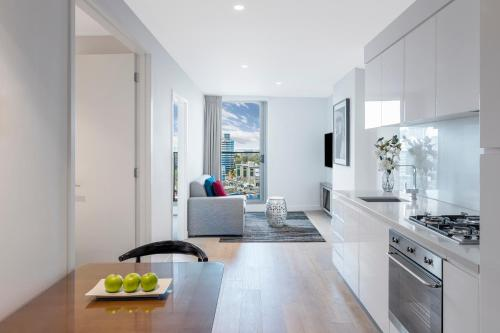 A kitchen or kitchenette at Imagine Marco