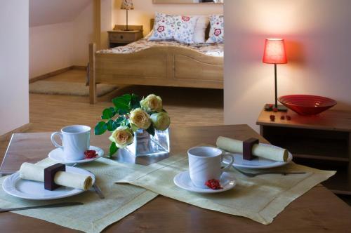 Opcje śniadaniowe w obiekcie Hotel Vesta Centrum Konferencyjno Wypoczynkowe