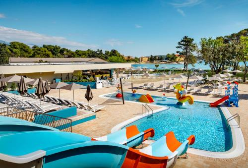 Basen w obiekcie Padova Premium Camping Resort by Valamar lub w pobliżu