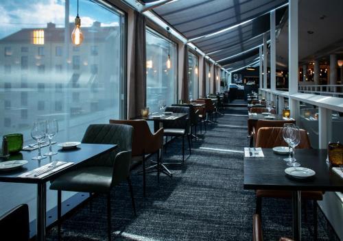 En restaurang eller annat matställe på Quality Hotel Panorama